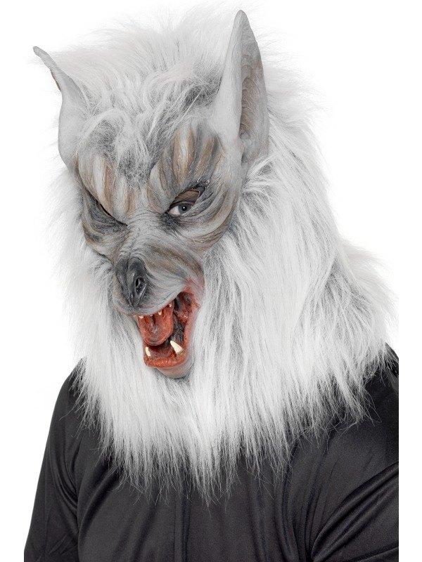 Overhead Wolf Fancy Dress Mask