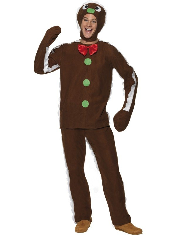 new adult christmas shrek gingerbread man mens fancy