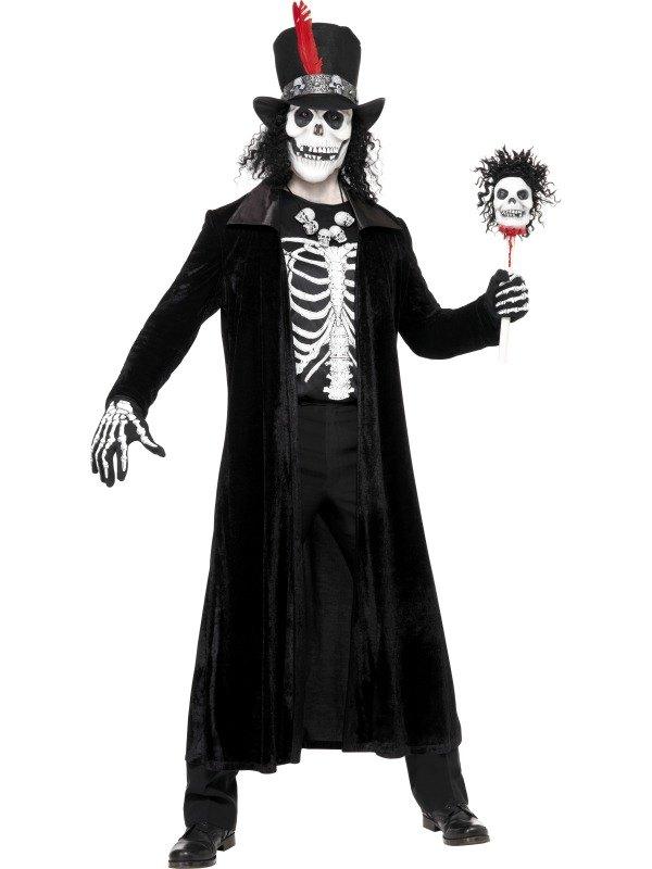 Adult Voodoo Witch Doctor Mens Halloween Horror Fancy ...