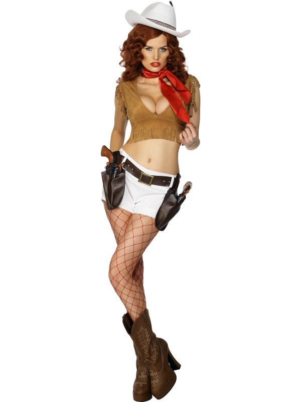 Sexy cowgirl fancy dress
