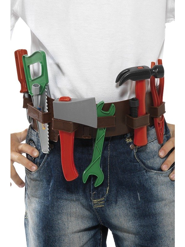 Childs Tool Belt and Fancy Dress Hat