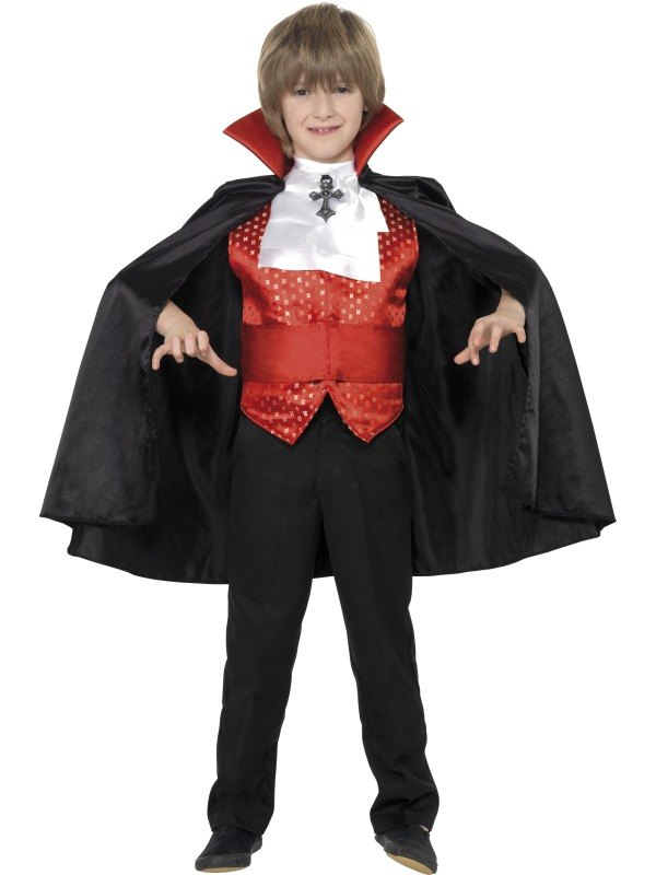 Dracula Boy Fancy Dress Costume