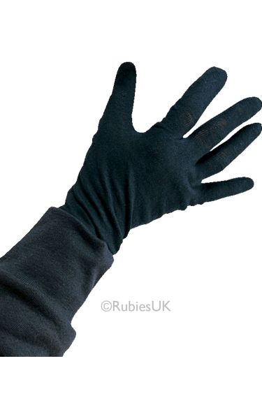 Cotton Black Gloves Kids