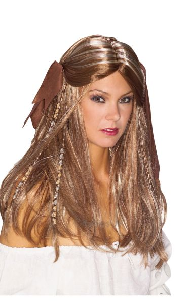 Pirate Wench Fancy Dress Wig