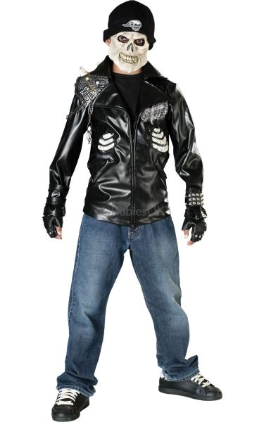 Kids Death Racer Fancy Dress Costume