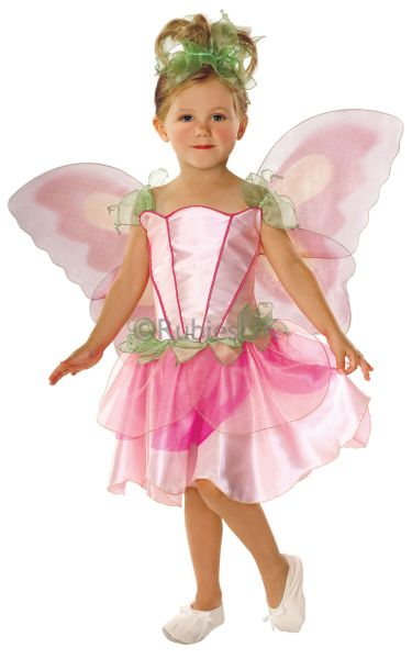 Childrens Pink Fairy Princess Girls Fancy Dress Costume Kids Party Outfit