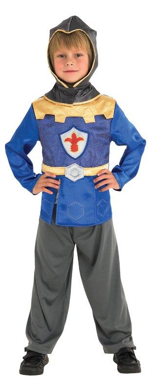 Kids Medieval Crusader Mike Knight Boys Book Week Childrens Fancy Dress Costume