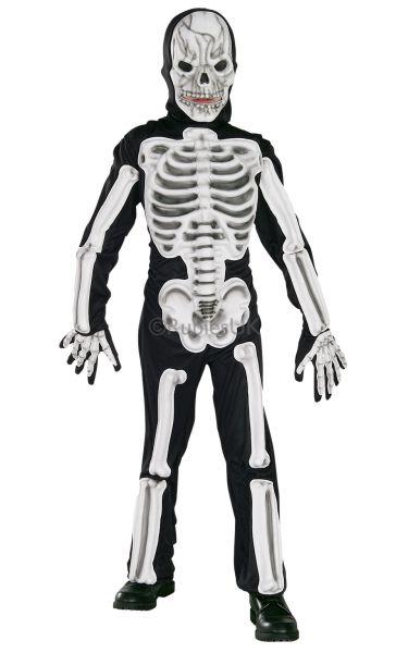 EVA Skeleton Fancy Dress Costume