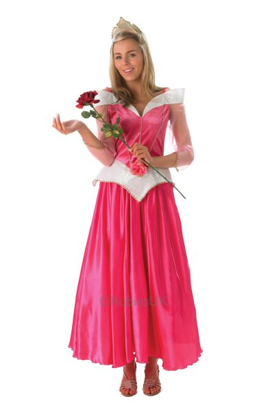 Adult Disney Princess Sleeping Beauty Ladies Book Week Fancy Dress Party Costume