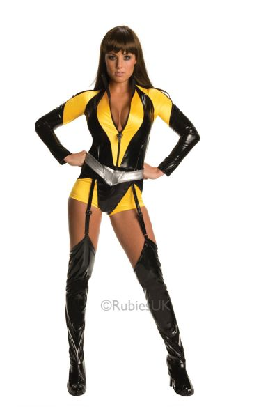 Watchmen Silk Spectre Fancy Dress Costume