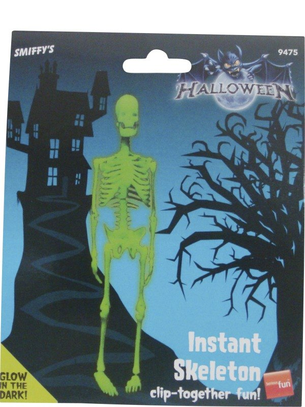Glo in the Dark Instant Skeleton