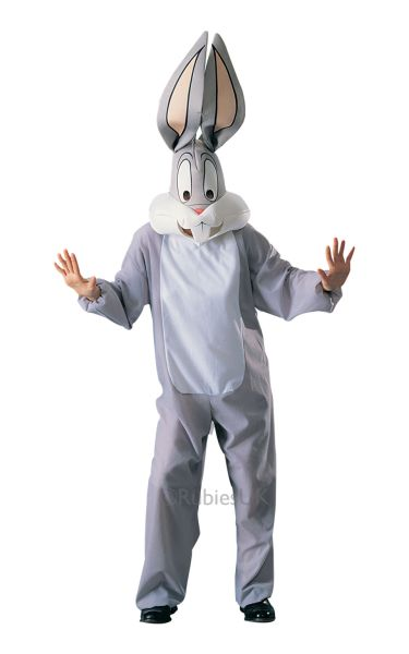 Adult Bugs Bunny Fancy Dress Costume