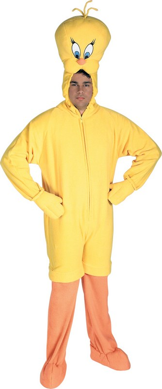 Deluxe Plush Tweety Fancy Dress Costume