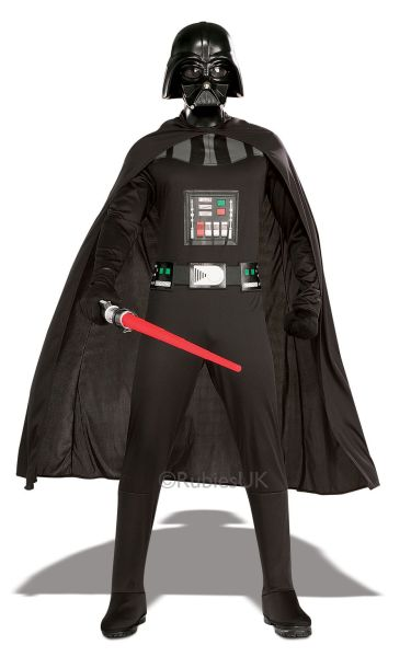 Adult Darth Vader Fancy Dress Costume