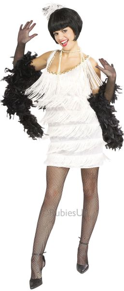 Broadway Babe Flapper Fancy Dress Costume