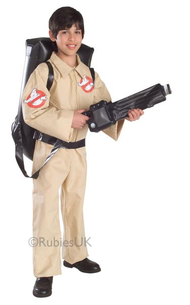 Kids Ghostbuster Fancy Dress Costume