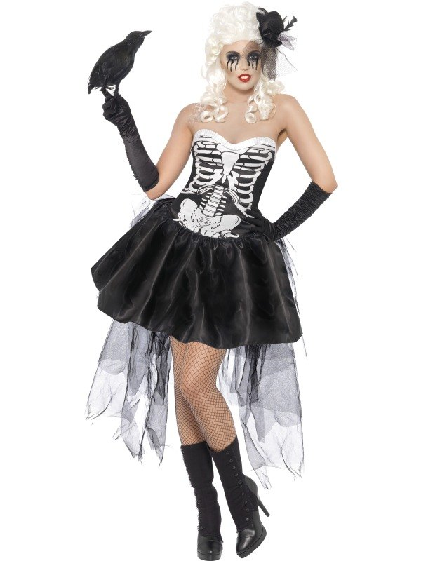 Skelly Von Trap Fancy Dress Costume