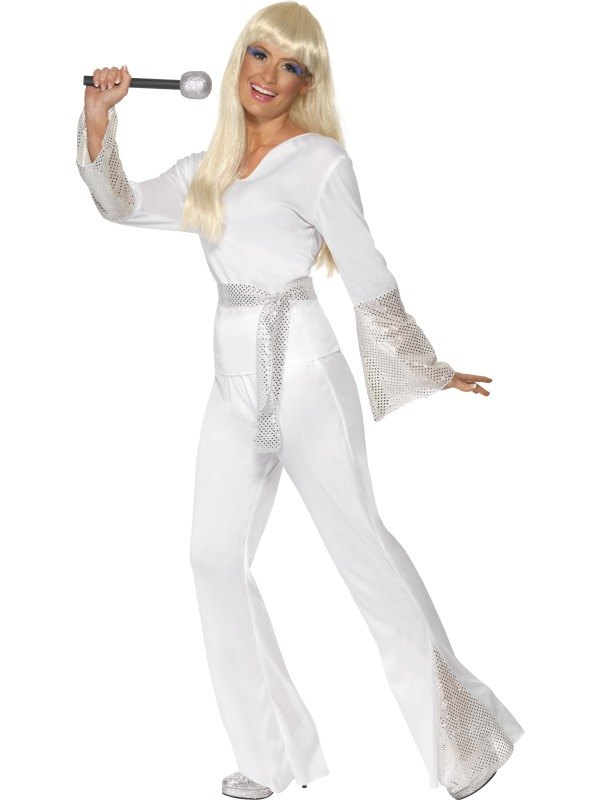 70s Disco Lady Fancy Dress Costume