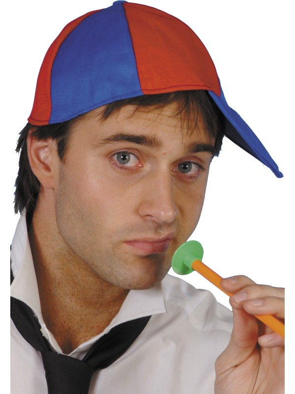 Schoolboy Cap Red and Blue