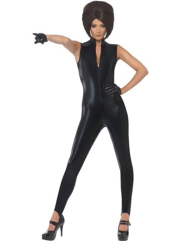 Posh Power, 1990s Icon Fancy Dress Costume Black
