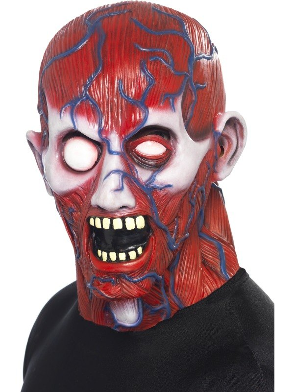 Anatomy Man Fancy Dress Mask