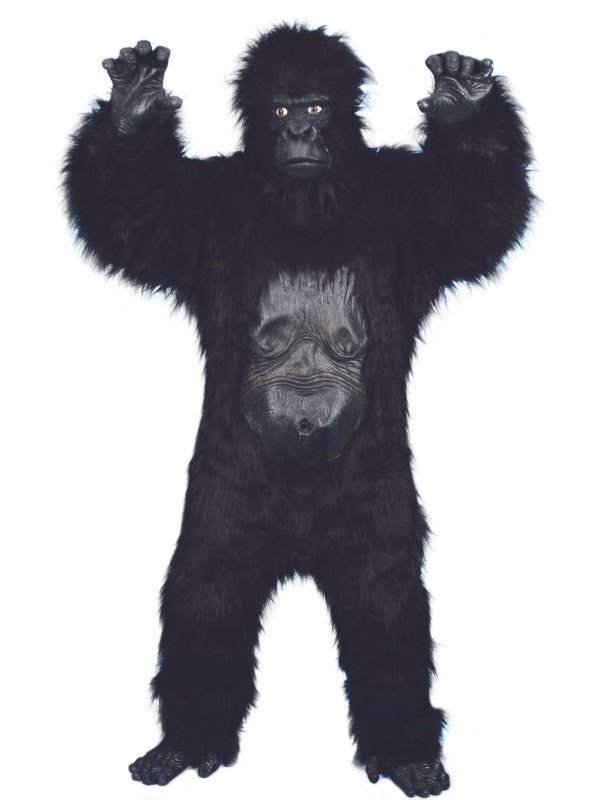 Deluxe Gorilla Fancy Dress Costume