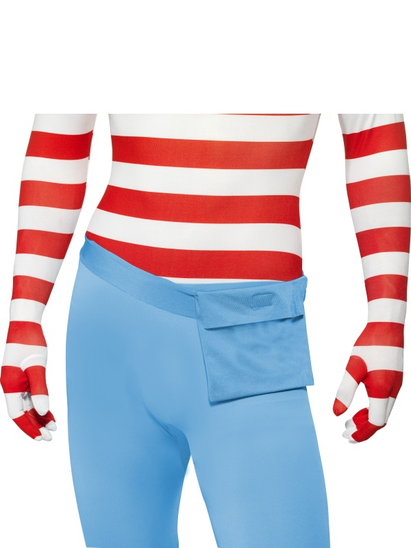 Wheres Wally? Second Skin Fancy Dress Costume