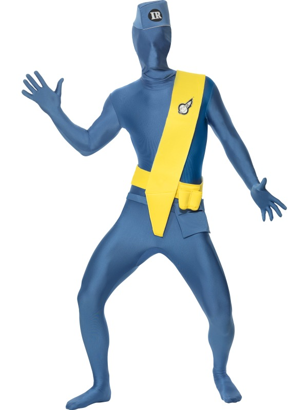 Thunderbirds Second Skin Fancy Dress Costume