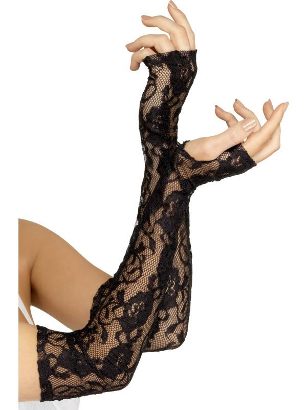 Gloves Black Lace