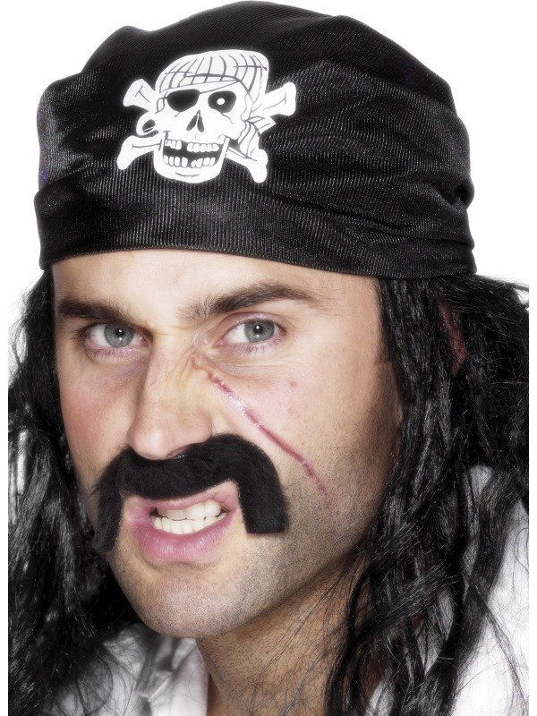 Pirate Bandana Skull and Crossbones