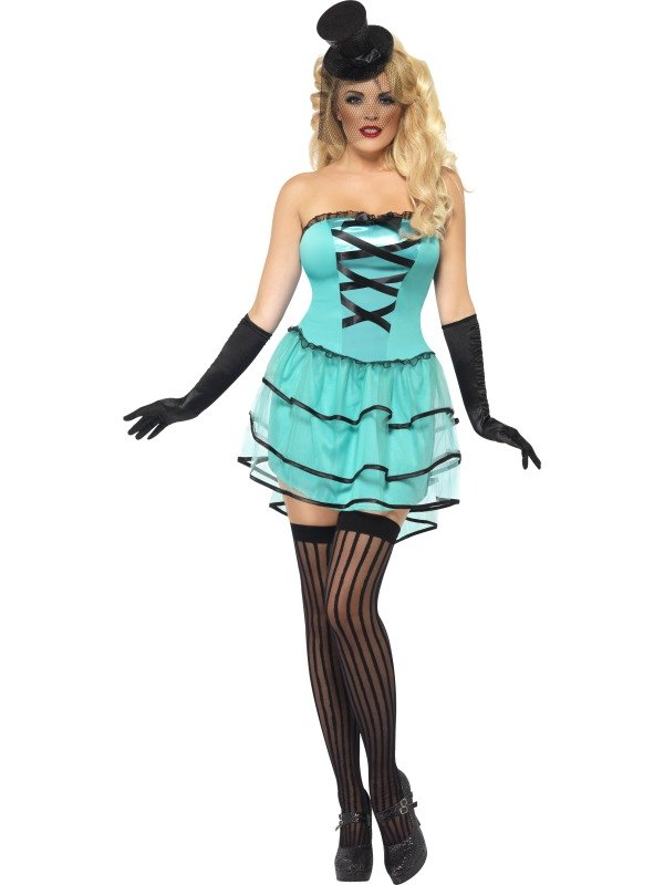 Burlesque Roxi Delite Fancy Dress Costume
