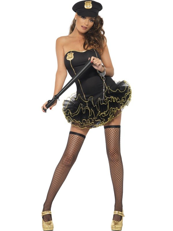 Tutu Police Fancy Dress Costume