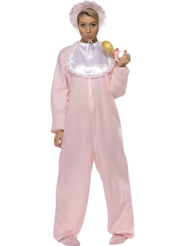 Adult Baby Fancy Dress Costume