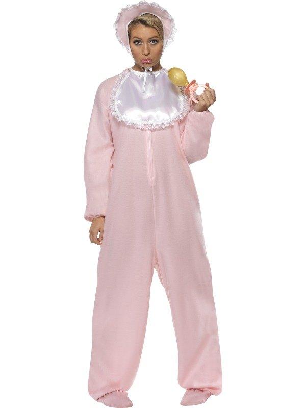 Adult Baby Fancy Dress Costume