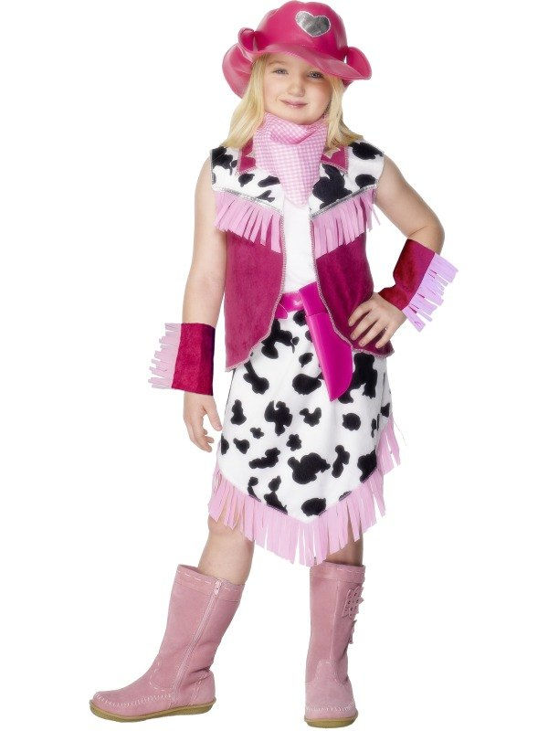 Rodeo Girl Fancy Dress Costume