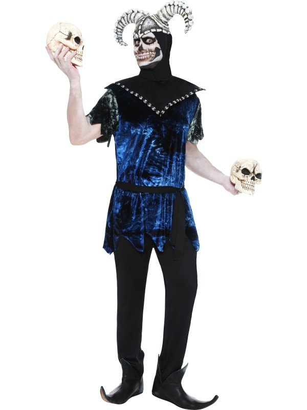 Corrupt Court Jester Fancy Dress Costume