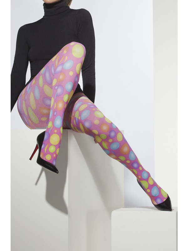 Tights Multi coloured Spots