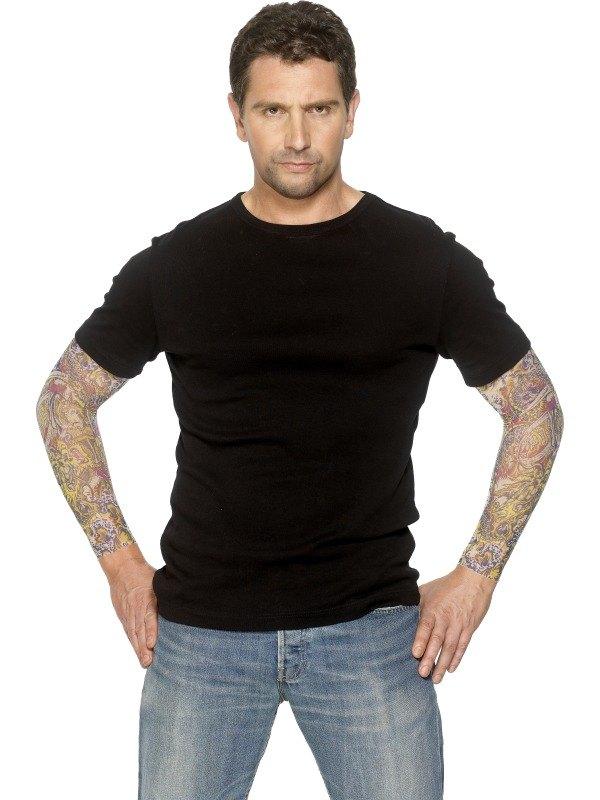 Tattoo Arm Sleeve Colour Design Pair