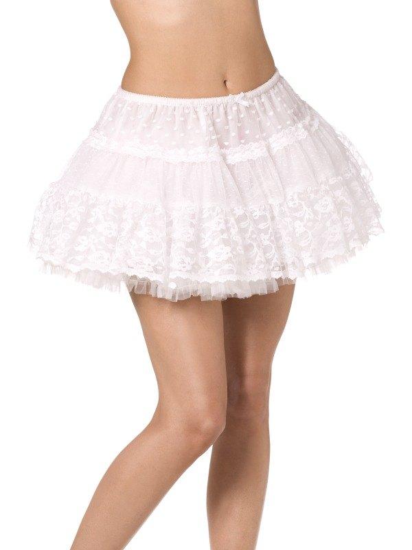 Lace Petticoat White