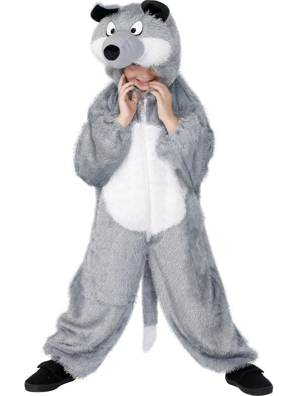 Wolf Fancy Dress Costume Childs