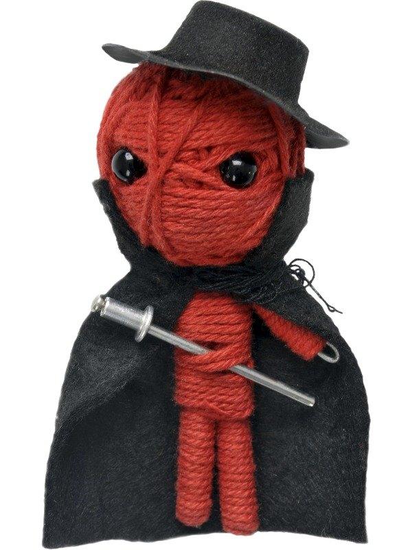 Voodoo String Doll Charm, El Bandito