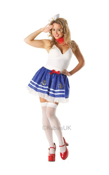 Sailor girl adult Tutu set