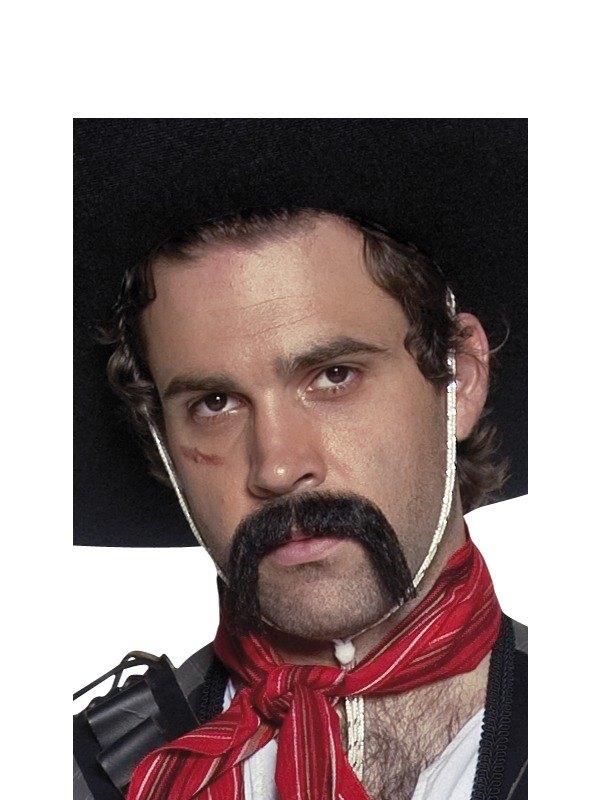 Black Mexican Moustache