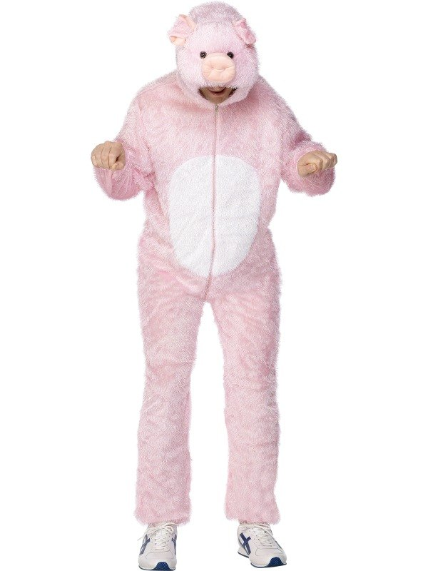 Pig Fancy Dress Costume Adult