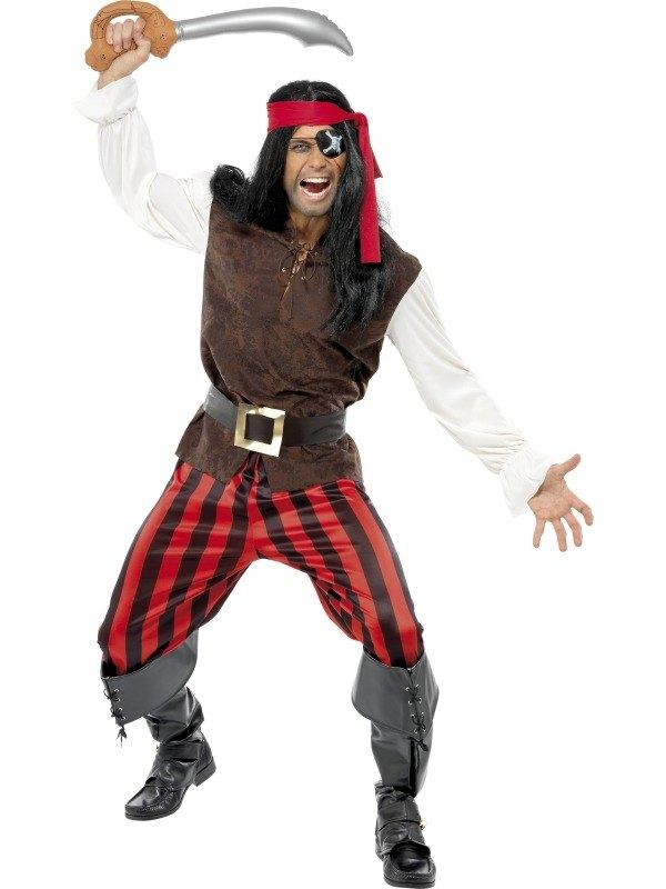 Pirate Ship Mate Fancy Dress Costume