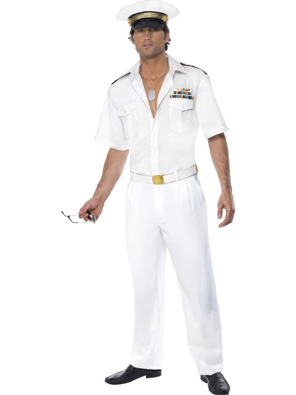 Top Gun Captain Fancy Dress Costume