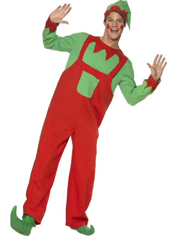 Workshop Elf Fancy Dress Costume