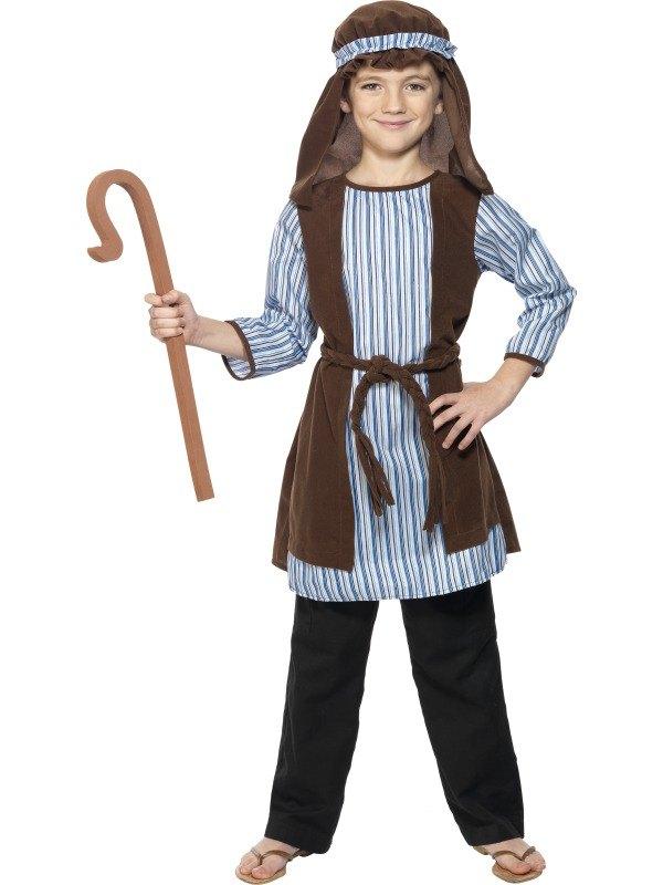 Boys Shepherd Fancy Dress Costume