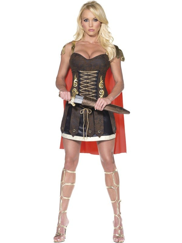 Gladiator Fancy Dress Costume