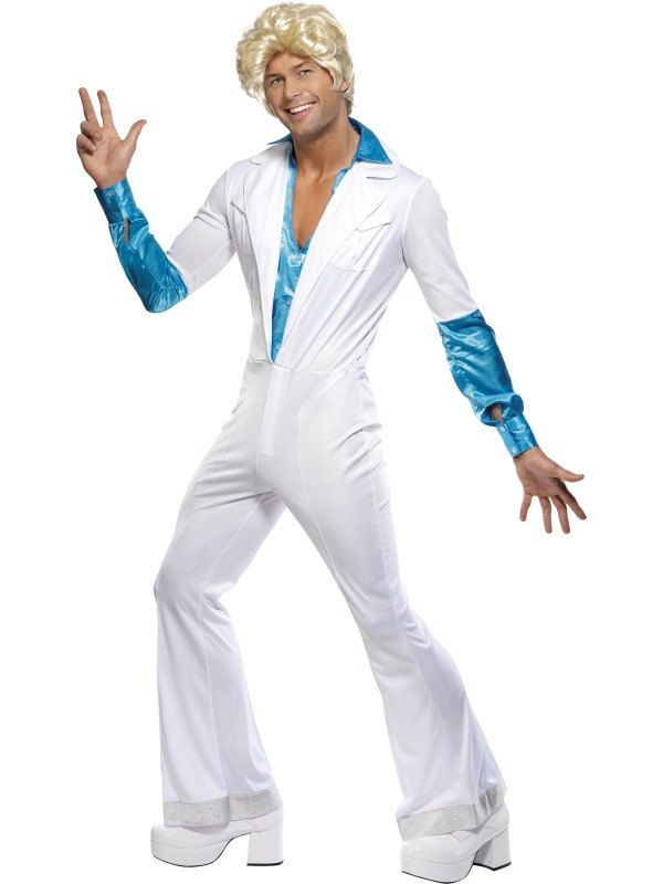Disco Man Fancy Dress Costume